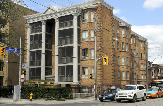 King Street building, affordable housing