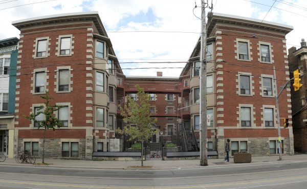 apartment building - supported housing