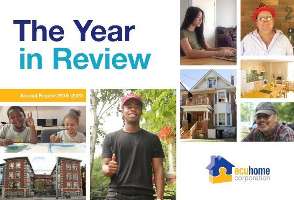 2019 - 2020 Annual Report Cover